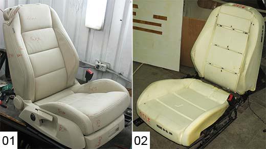 Как отремонтировать автомобильное сиденье - Хобби и увлечения